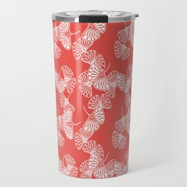 Ginkgo Red Travel Mug