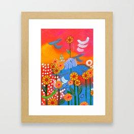 Jump for Joy Framed Art Print
