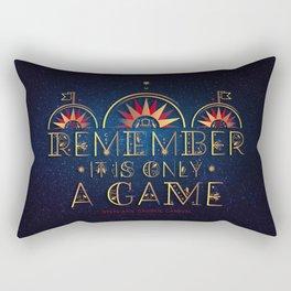 Only A Game Rectangular Pillow