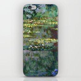 Claude Monet Le Bassin des Nympheas iPhone Skin