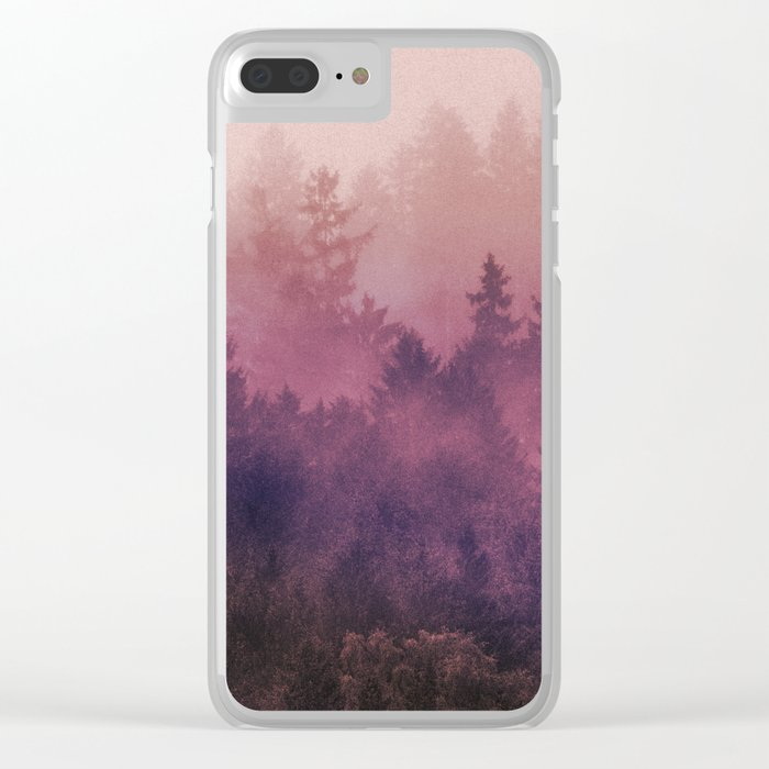 The Heart Of My Heart Clear iPhone Case