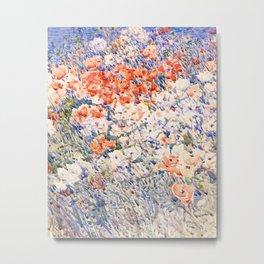 The Island Garden - Frederick Childe Hassam Metal Print