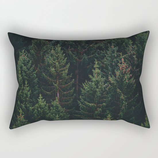 Forest of Pines Rectangular Pillow
