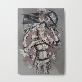The Boss - MGS4 Metal Print