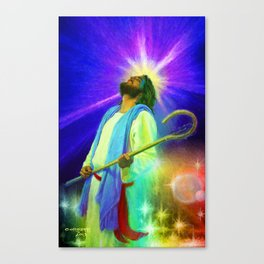 Jesus Rocks Canvas Print