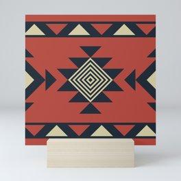 Aztec pattern Mini Art Print