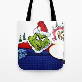 Movie Dr. Seuss' How the Grinch Stole Christmas! H Tote Bag
