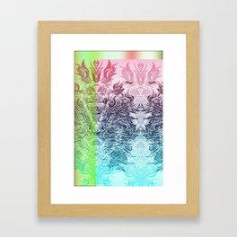 Soft Lines(PBG) Framed Art Print