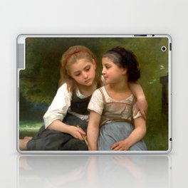 "William-Adolphe Bouguereau ""Fishing For Frogs"" Laptop & iPad Skin"