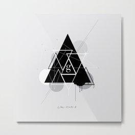 g. Metal Print