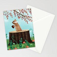 Woodland Friends - Chipmunk Stationery Cards