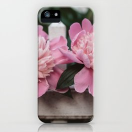 Peony in the Garden iPhone Case