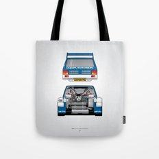 Outline Series N.º7, MG Metro 6R4, 1986 Tote Bag