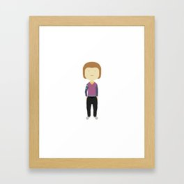 Pierre Framed Art Print