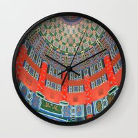 china Wall Clocks featuring China by Hgnovic