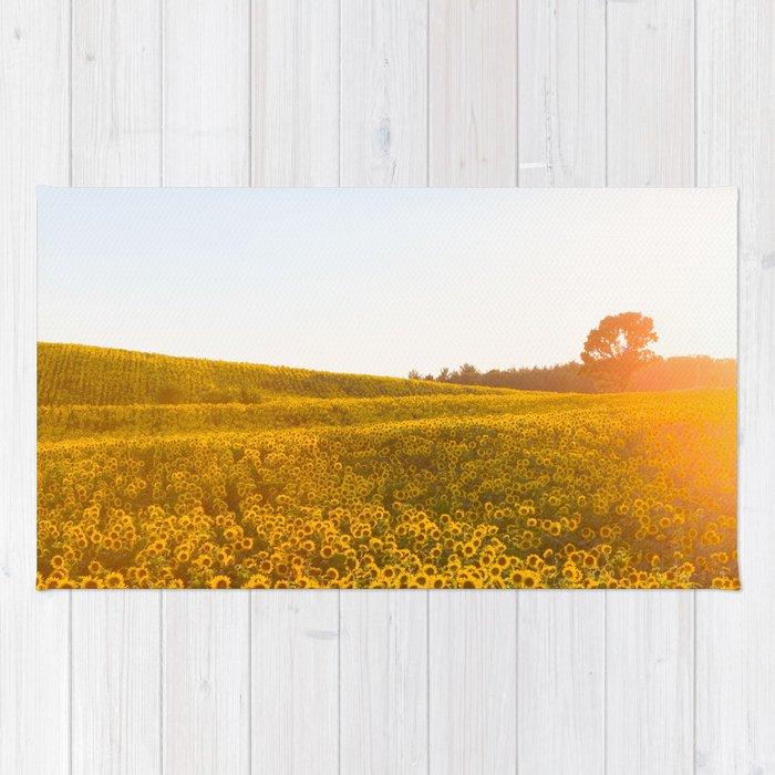 Field of Sunshine Rug
