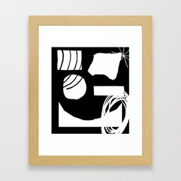 Jazz Party Framed Art Print