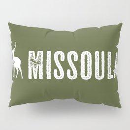 Deer: Missoula, Montana Pillow Sham