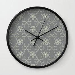 neutral classic pattern Wall Clock