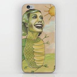 SUNSHINE DINO iPhone Skin
