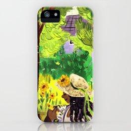 Artist in the Sunshine iPhone Case