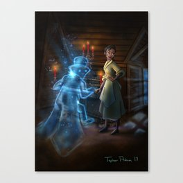Ts Private Concert by Topher Adam 2017 Canvas Print