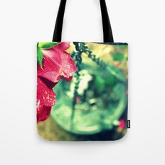 Rose and Chain Tote Bag
