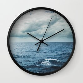 Wave of Delusion Wall Clock