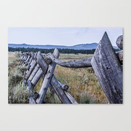 The Ranch III Canvas Print