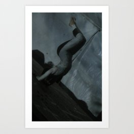 Contortion I Art Print