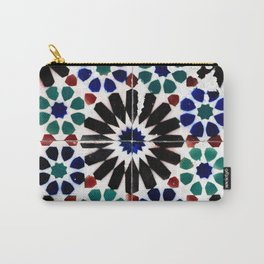 Time-worn tiles Carry-All Pouch