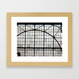 Station Framed Art Print