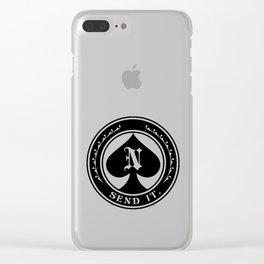 Nimmer Send It Clear iPhone Case