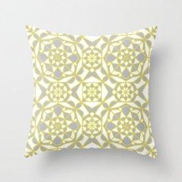 Light Through the Shadows- Mosaic Pattern Throw Pillow