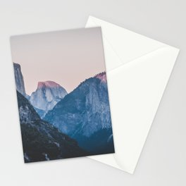 Yosemite sunset II Stationery Cards