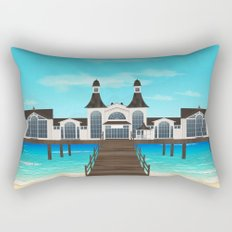 Seebrücke Sellin Rectangular Pillow