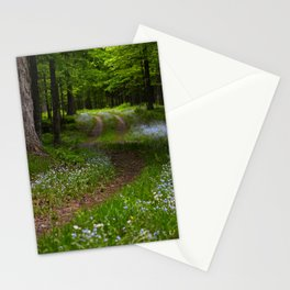 Forget-me-not Trail Stationery Cards