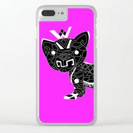 Cougar del mar ecopop Clear iPhone Case