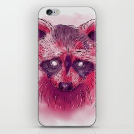 Raccoon I iPhone Skin
