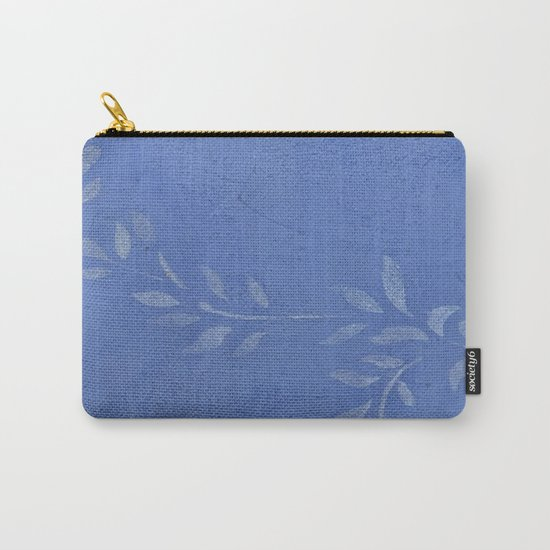 Blue Ivy Vine - Pretty - Rustic - Floral Carry-All Pouch