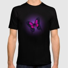 Butterfly Beauty Mens Fitted Tee Black 2X-LARGE