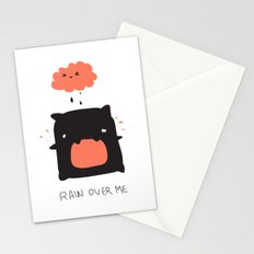 RAIN OVER ME Stationery Cards