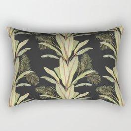 Banana Palm Pattern Rectangular Pillow