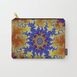 Fractal Checkerboard Carry-All Pouch