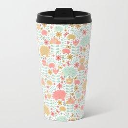 Spring Hedgehog Forest Travel Mug