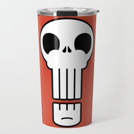 Long Skull Travel Mug
