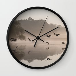 Back on to the other side Wall Clock