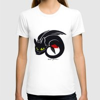 toothless T-shirts featuring Toothless by Annie Pollock