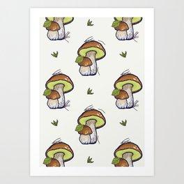 forest's bounty Art Print