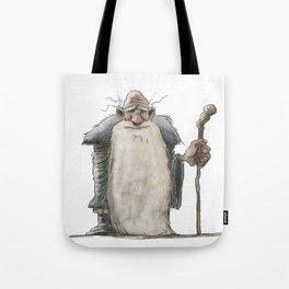 Old Man Wizard Tote Bag